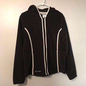 Columbia Full Zip Hooded Fleece Jacket